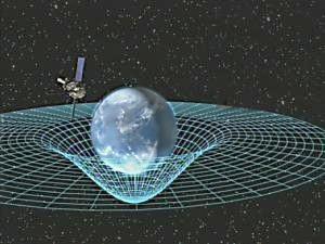 La deformazione dello spazio-tempo attorno alla Terra 1